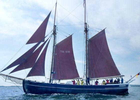 Das Traditionssegelschiff ZUVERSICHT